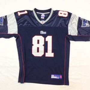 NE Patriots Randy Moss NFL jersey